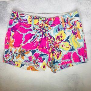 Lilly Pulitzer The Callahan Shorts Bright Floral 0